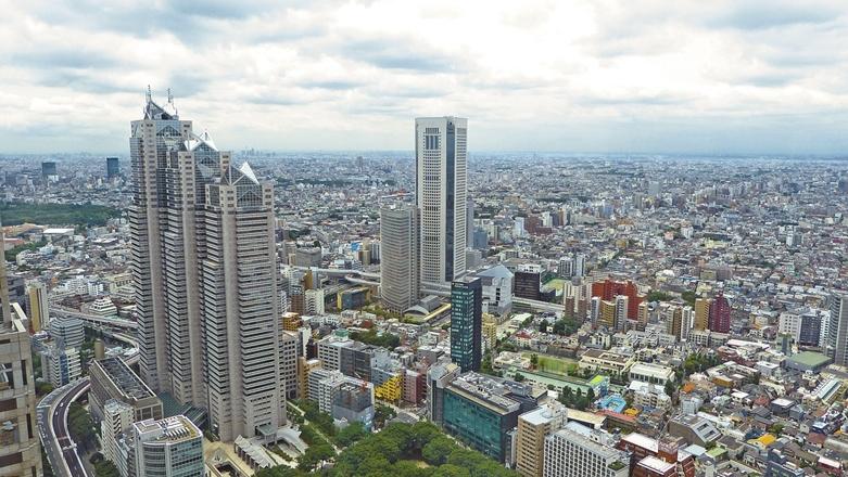 東京のビル街