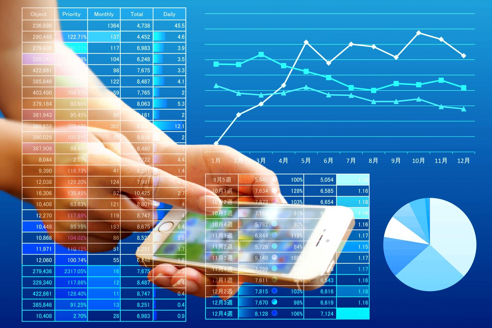 スマートフォンとデータ